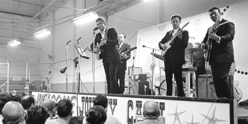 Johnny Cash Live at Folsom Prison <br> A 50th Anniversary Tribute by the Junior Johnson Band